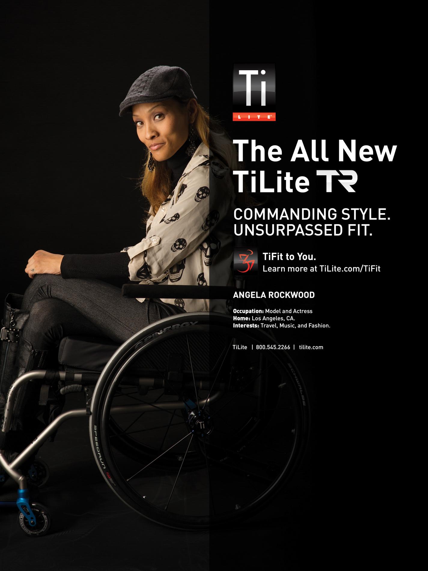 Advertisement for TiLite