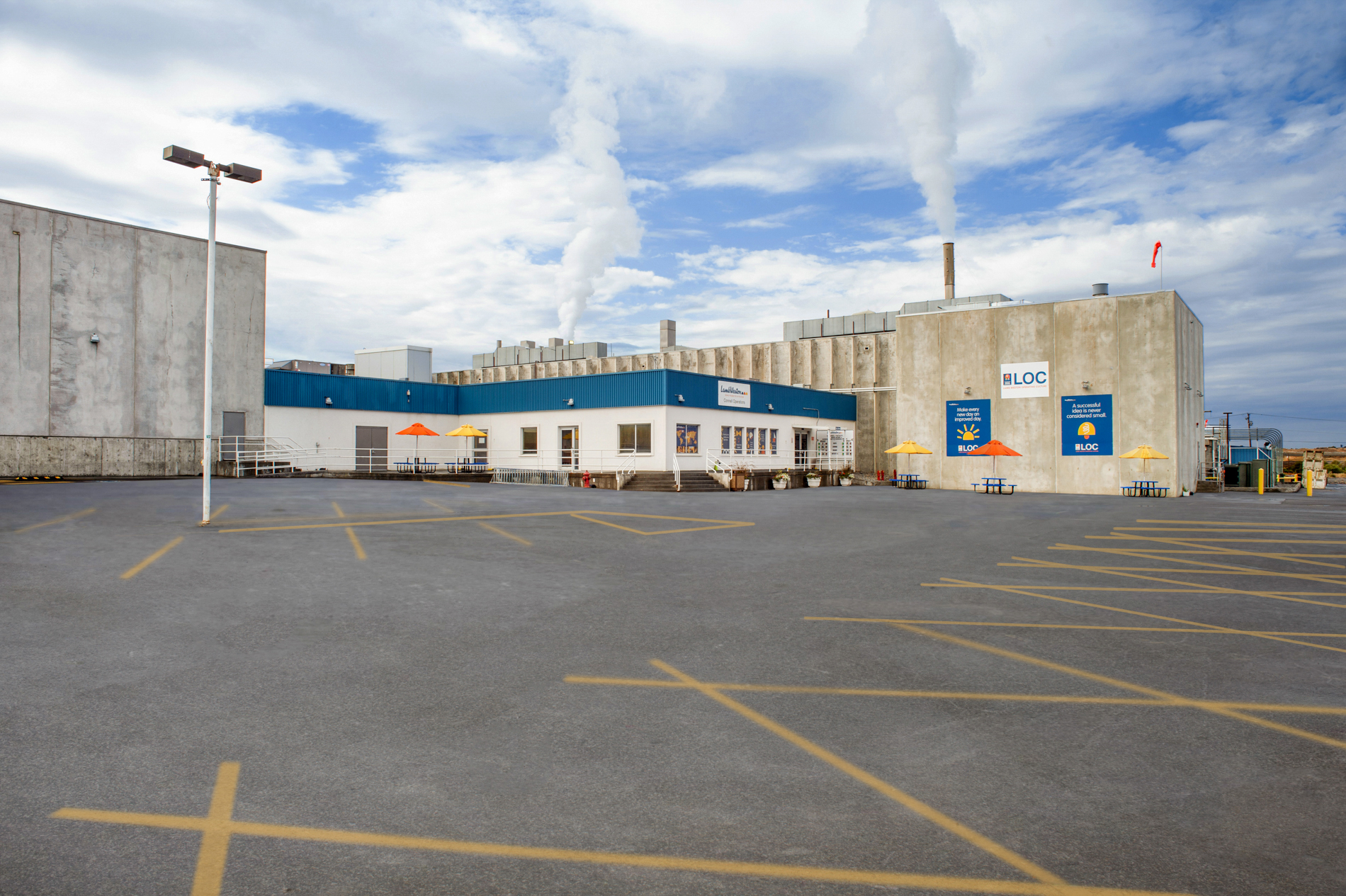 Connell Plant Exterior