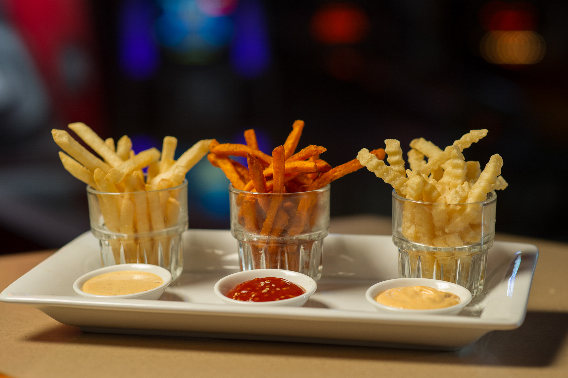 A Variety of Fries