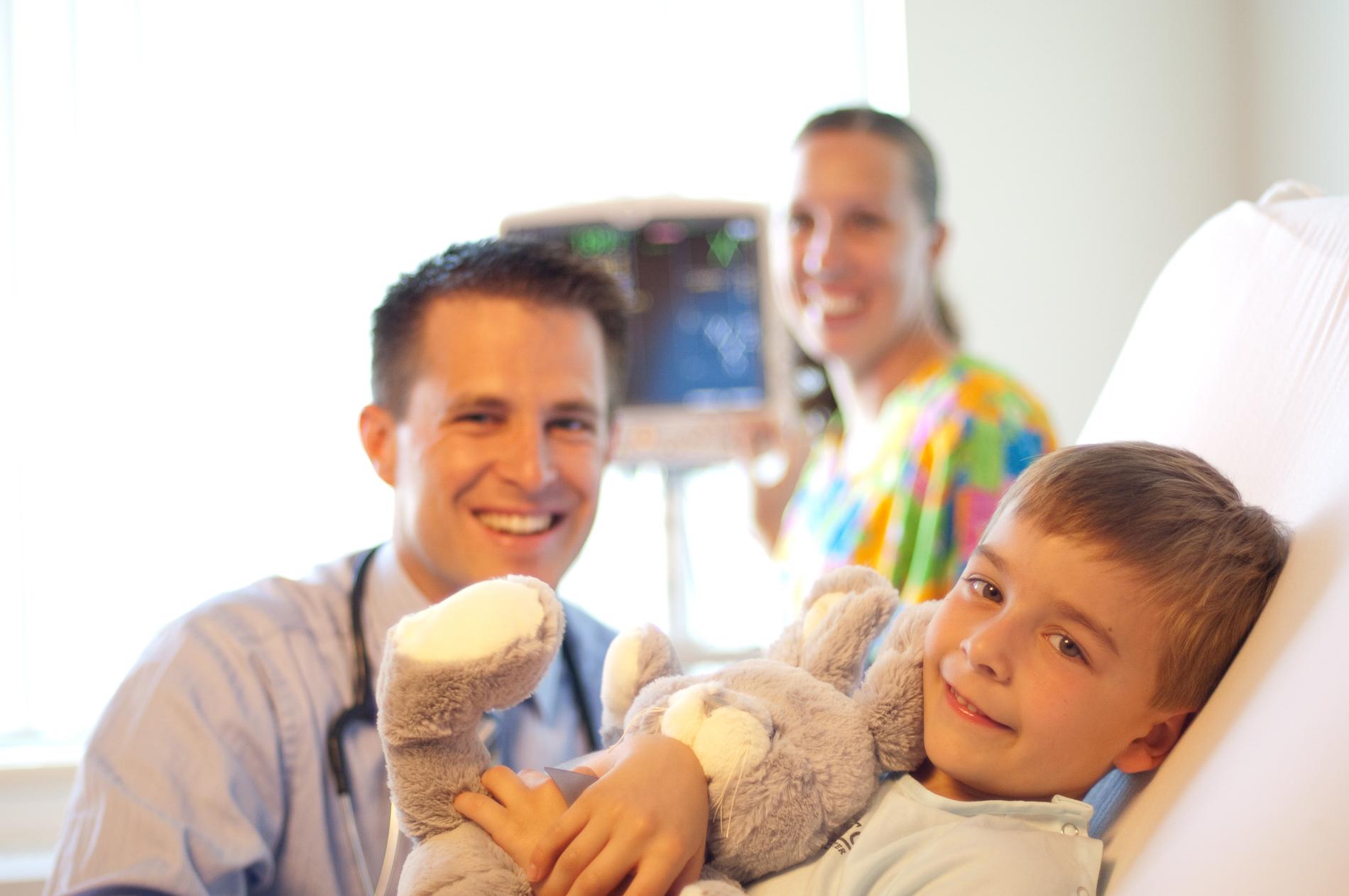 Pediatric Department Photography