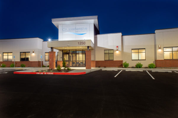 Mental health facility in Walla Walla photographed for Jackson Contractor Group.