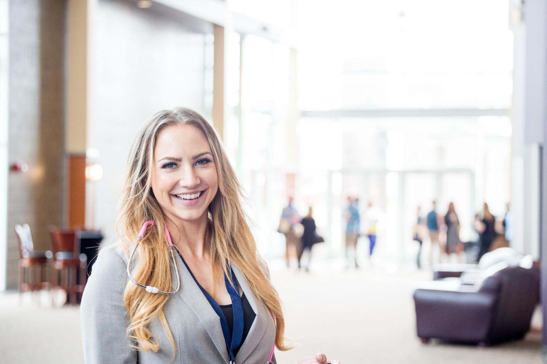 Portrait at a Convention
