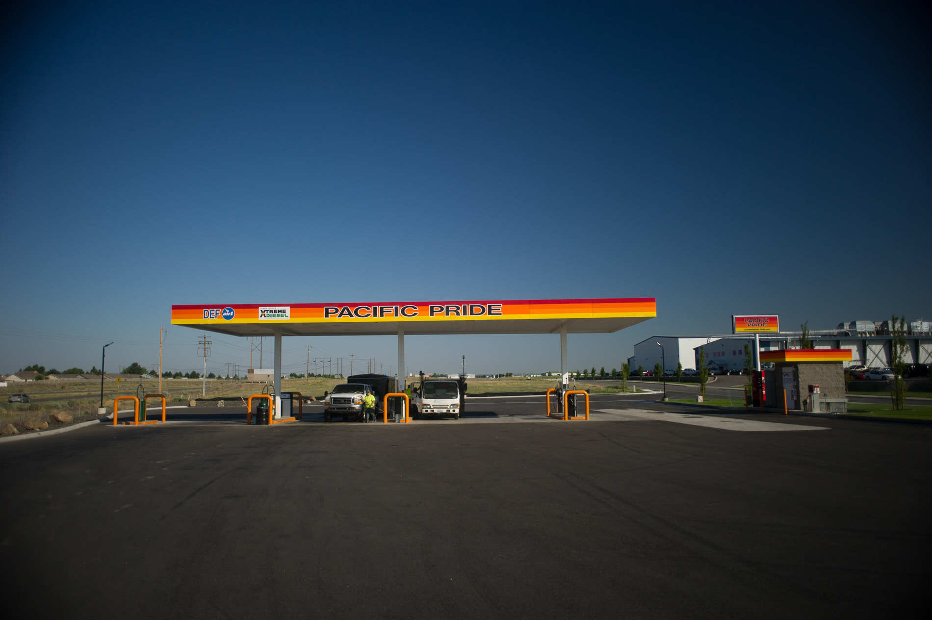 Connell Oil Refueling Station
