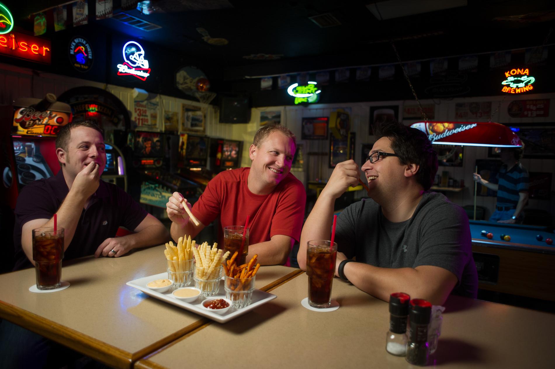 Fries in a Bar