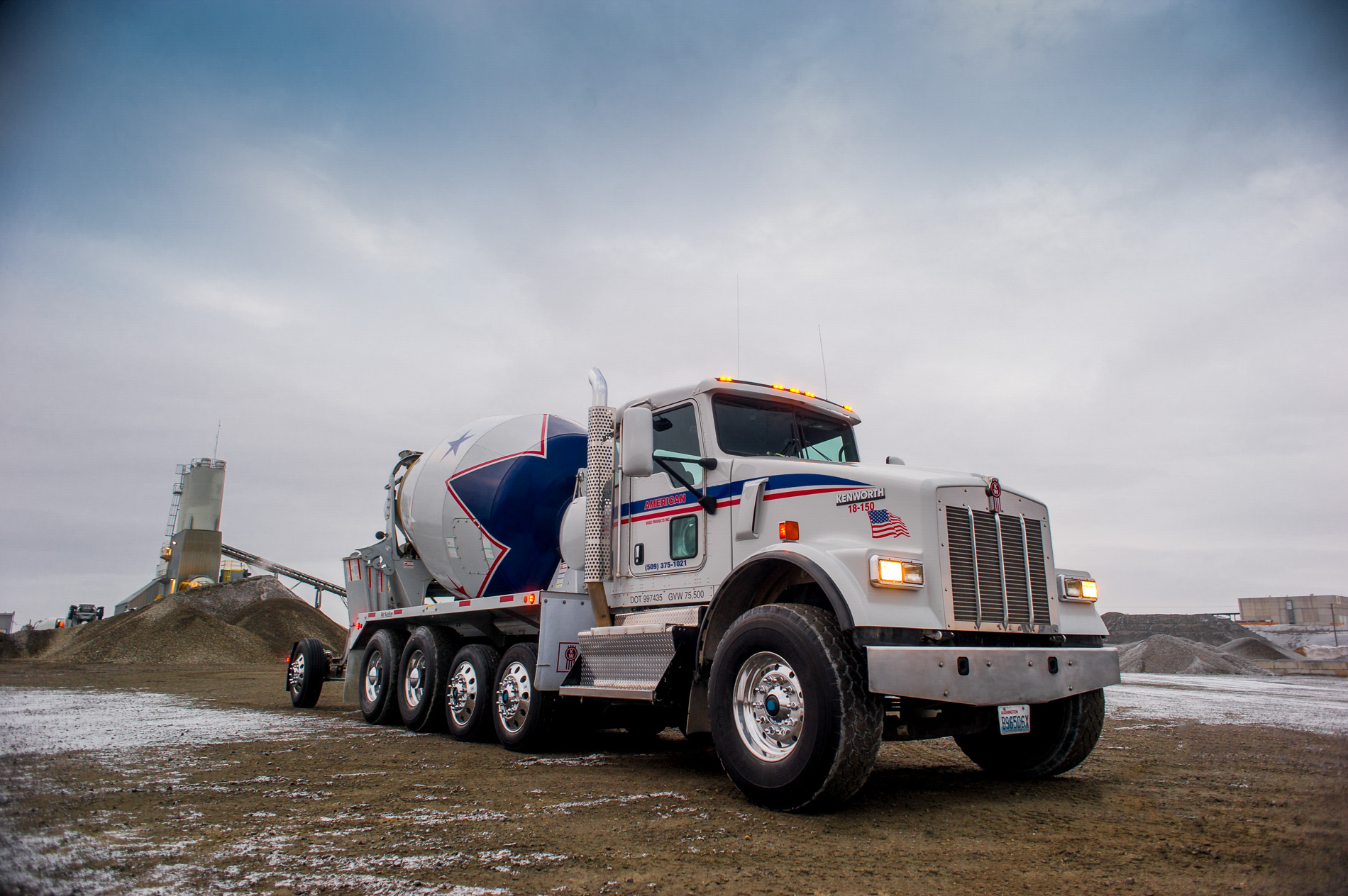 Marketing Photography for McNeilus Truck