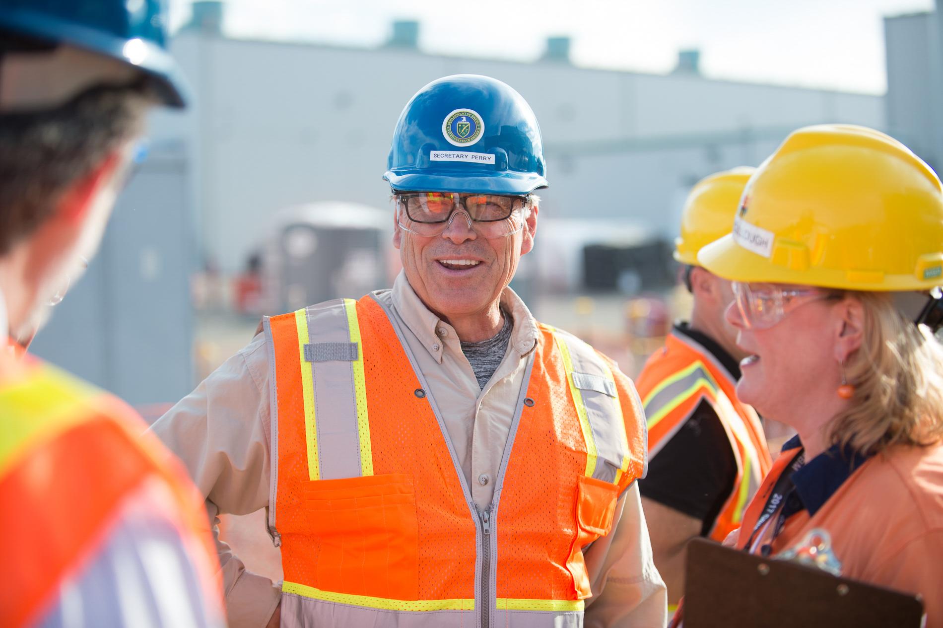Secretary of Energy Portrait
