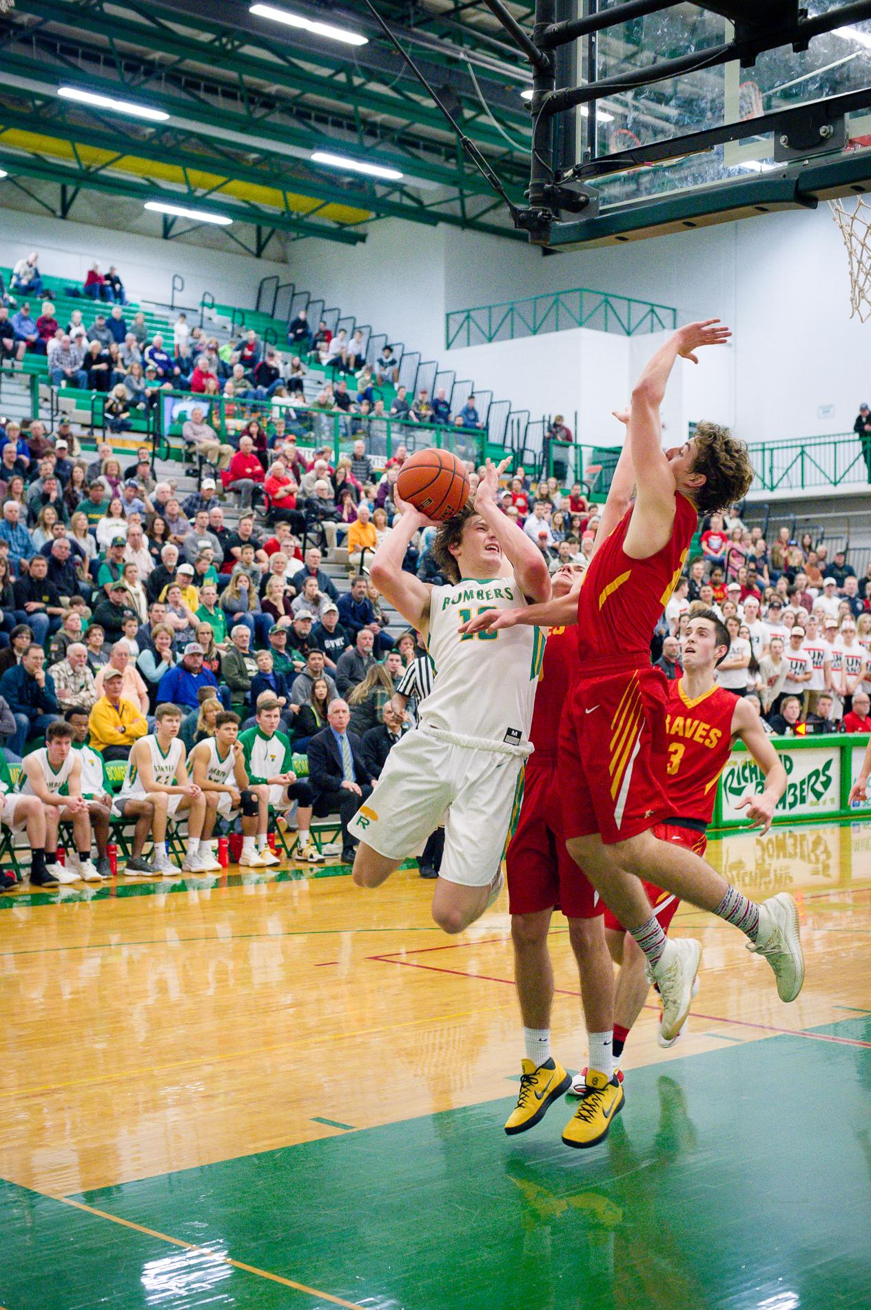 Basketball Action Photos