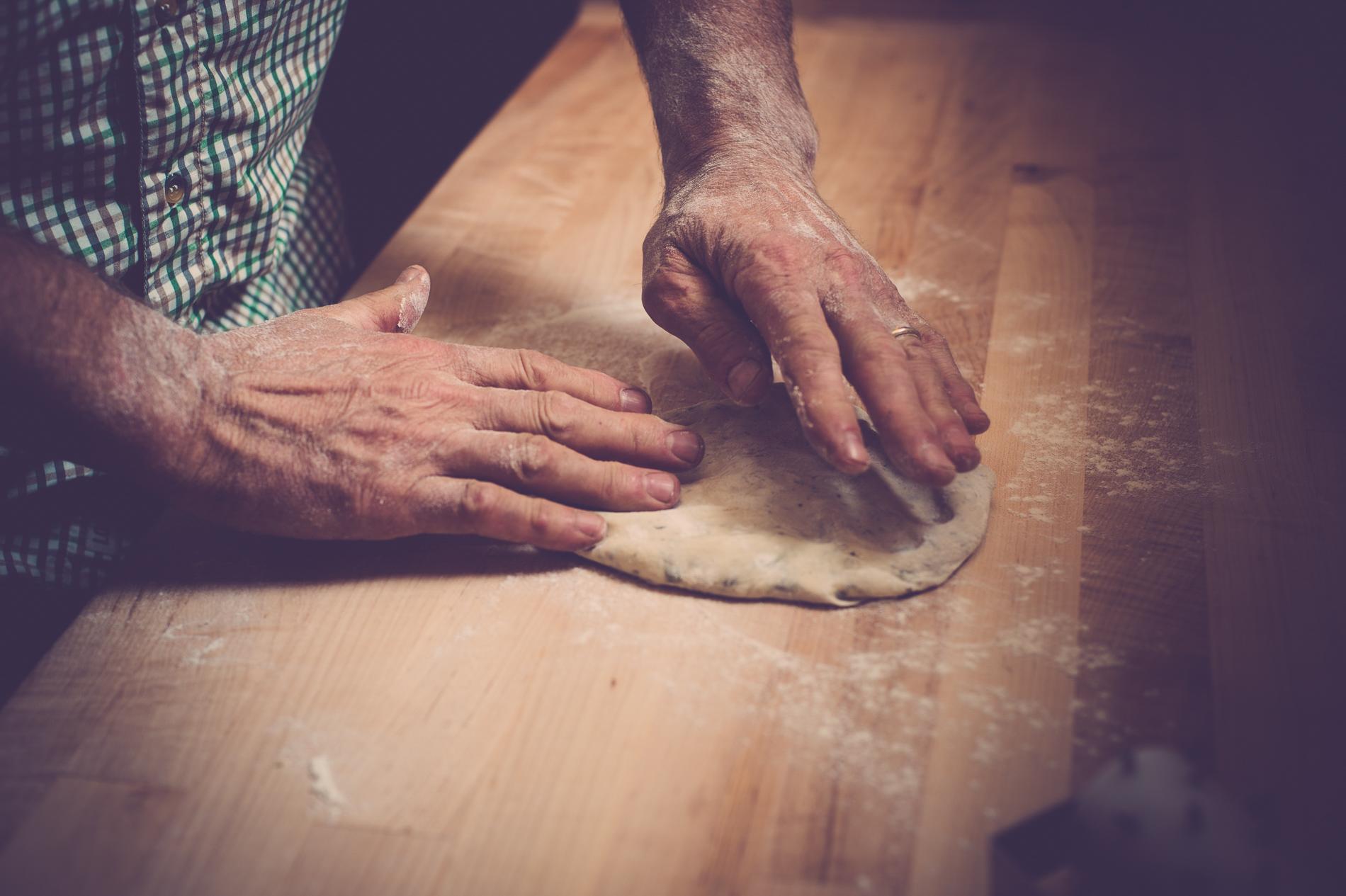 Handmade Pizza Photography