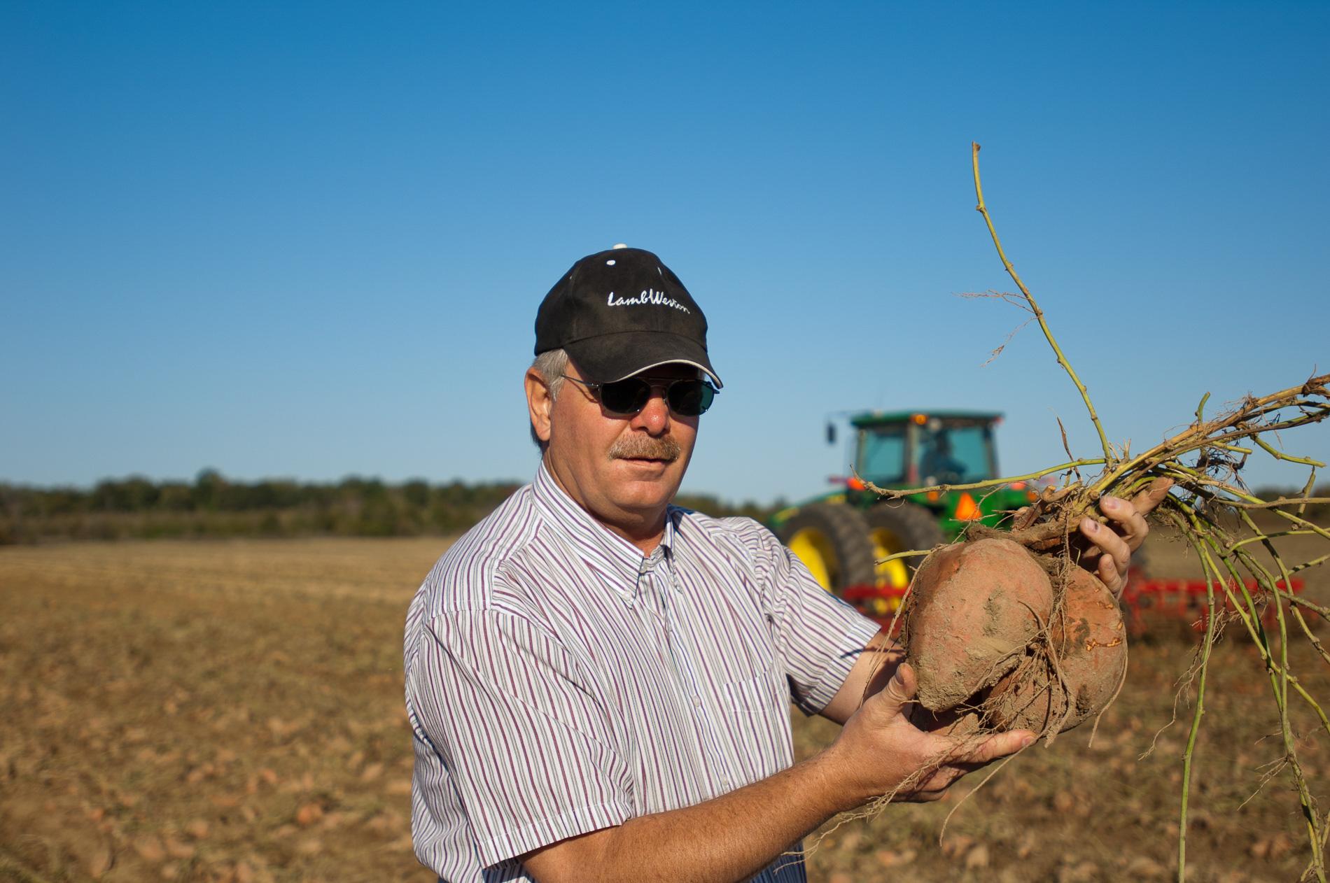 Guy Holds a Potato