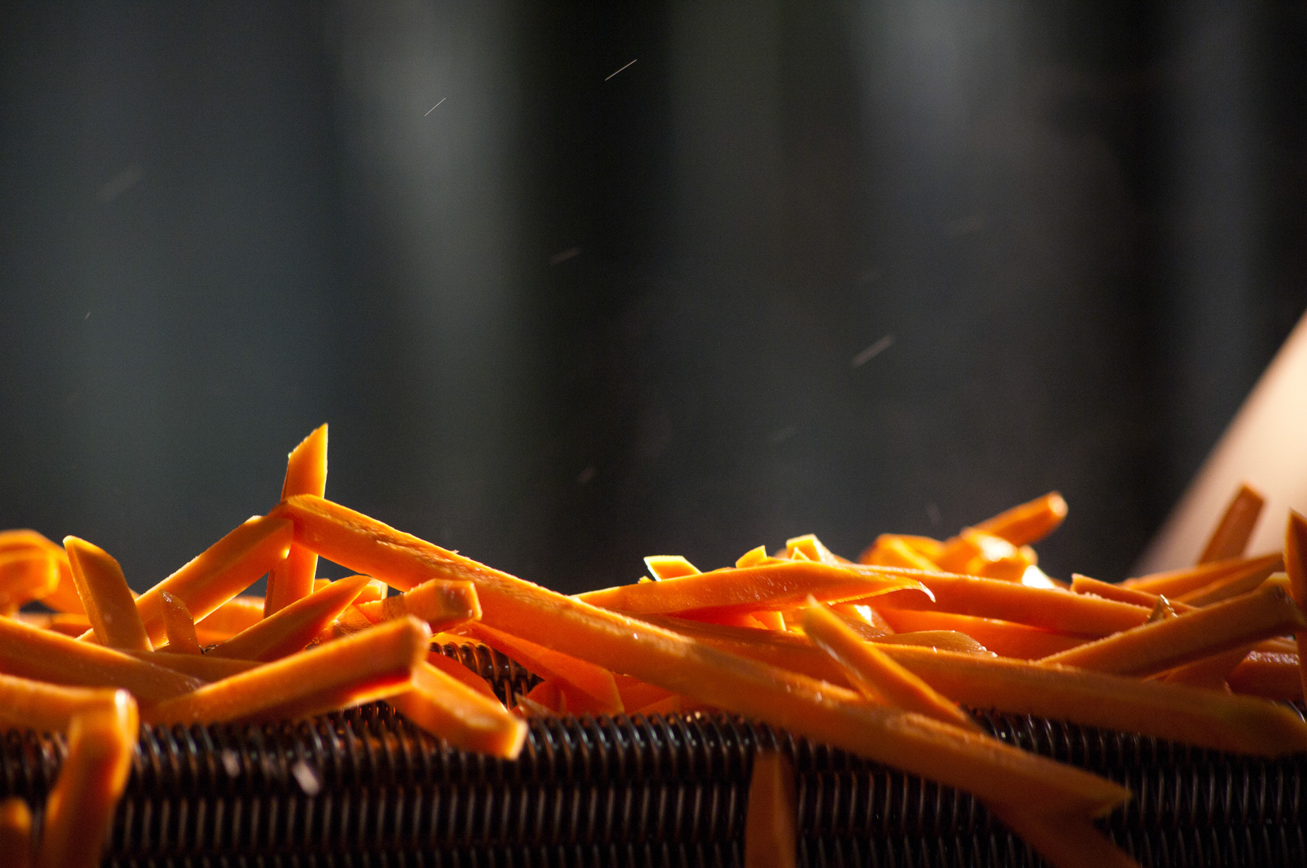 Sweet Potato Fry Production