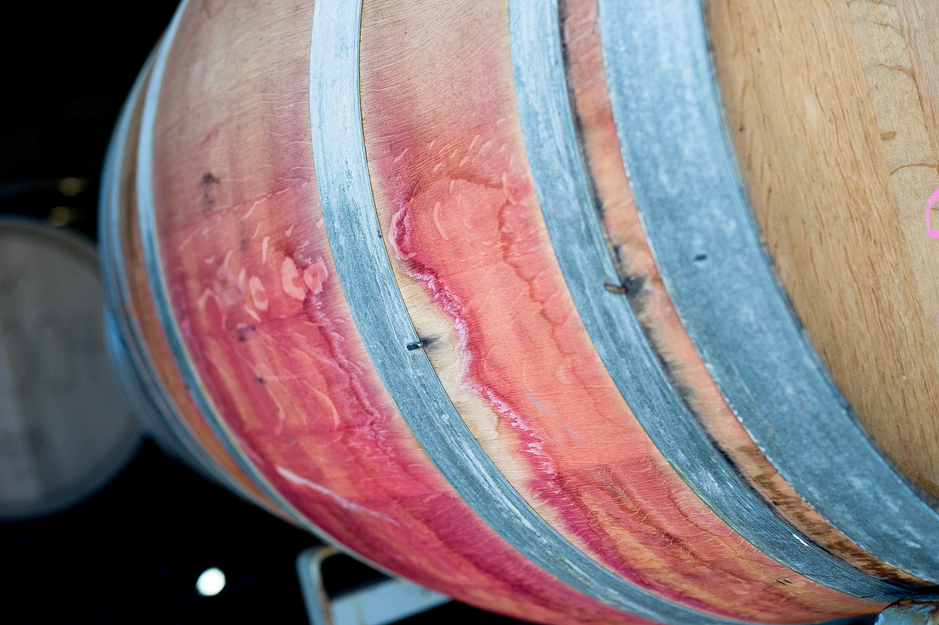 Wine Barrell Stain