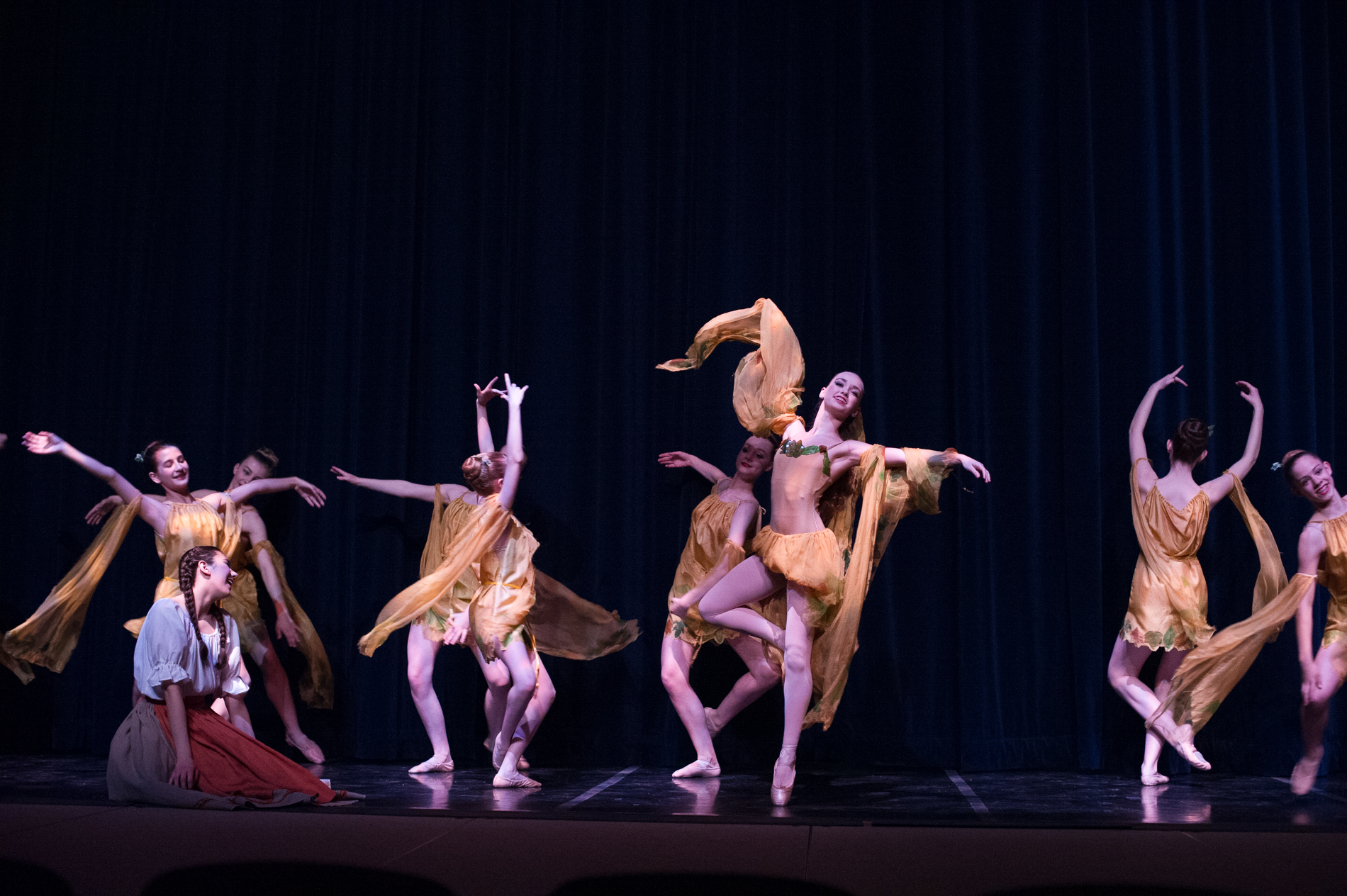 Dance Production Photography