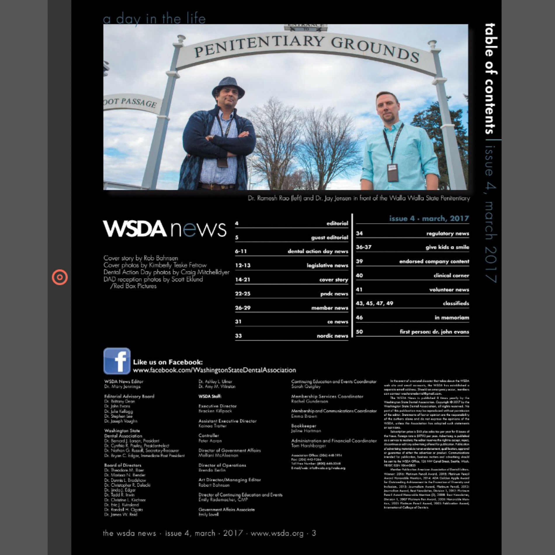 Washington State Dental Association Magazine