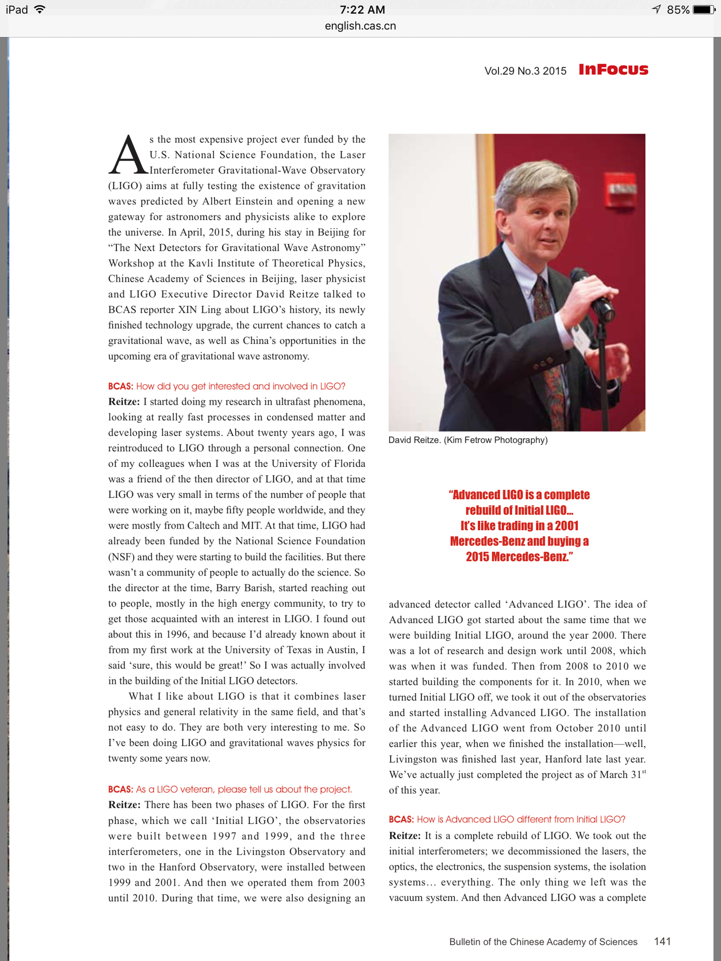 In Focus Magazine