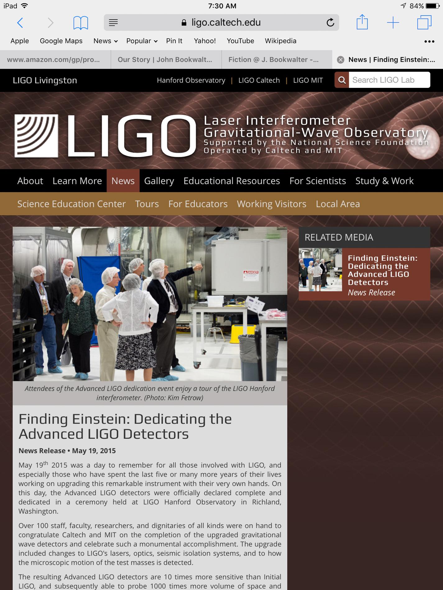 LIGO My EGGO