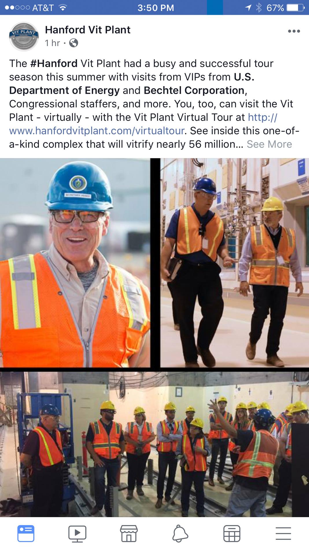 Secretary of Energy Rick Perry