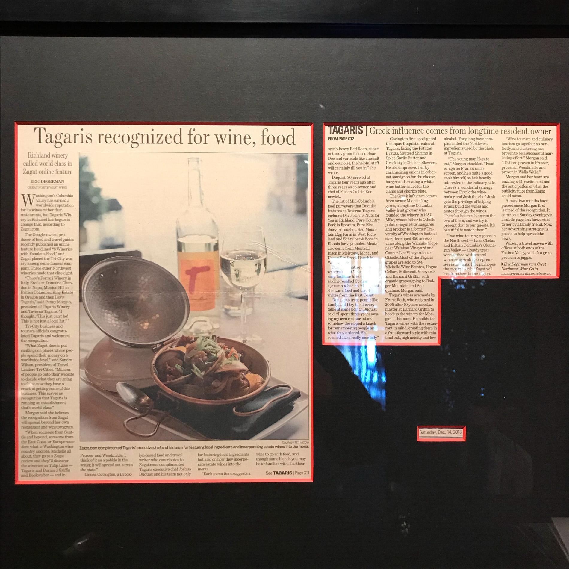 Framed Photo at Tagaris