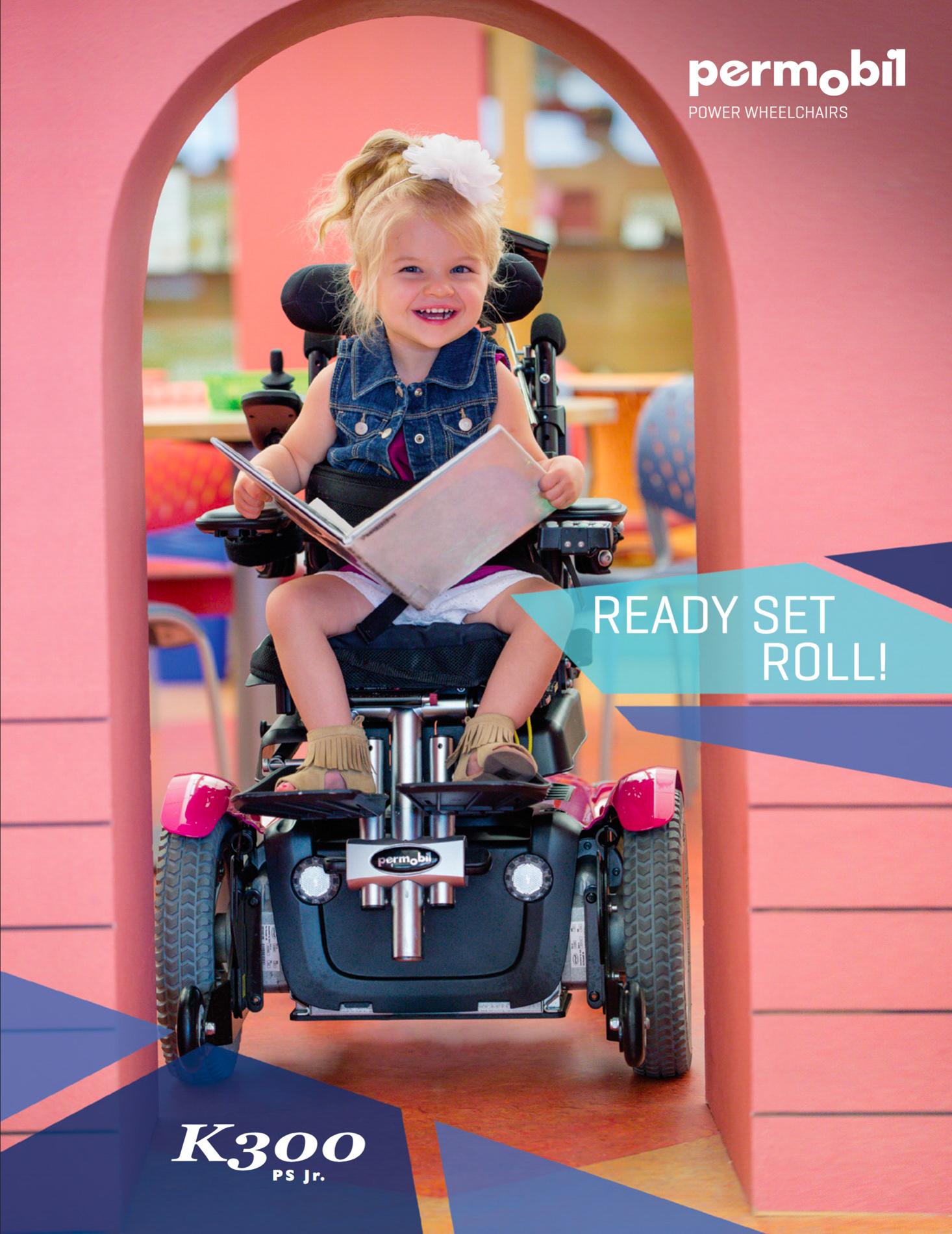 Sweet Girl in a Wheelchair