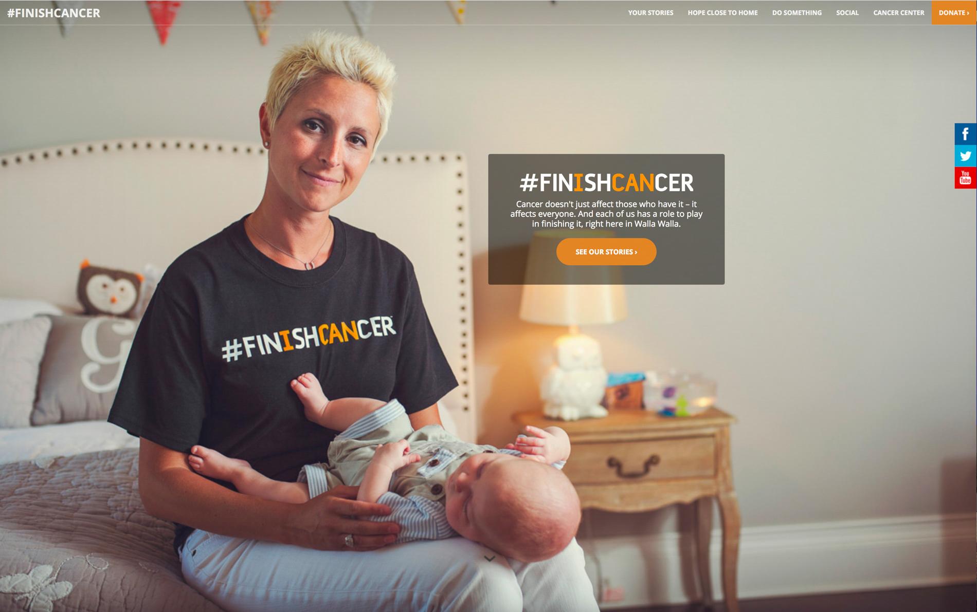 Finish Cancer Campaign