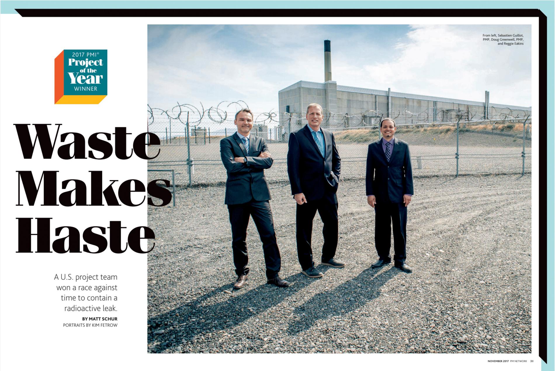 PMI Network Magazine Feature