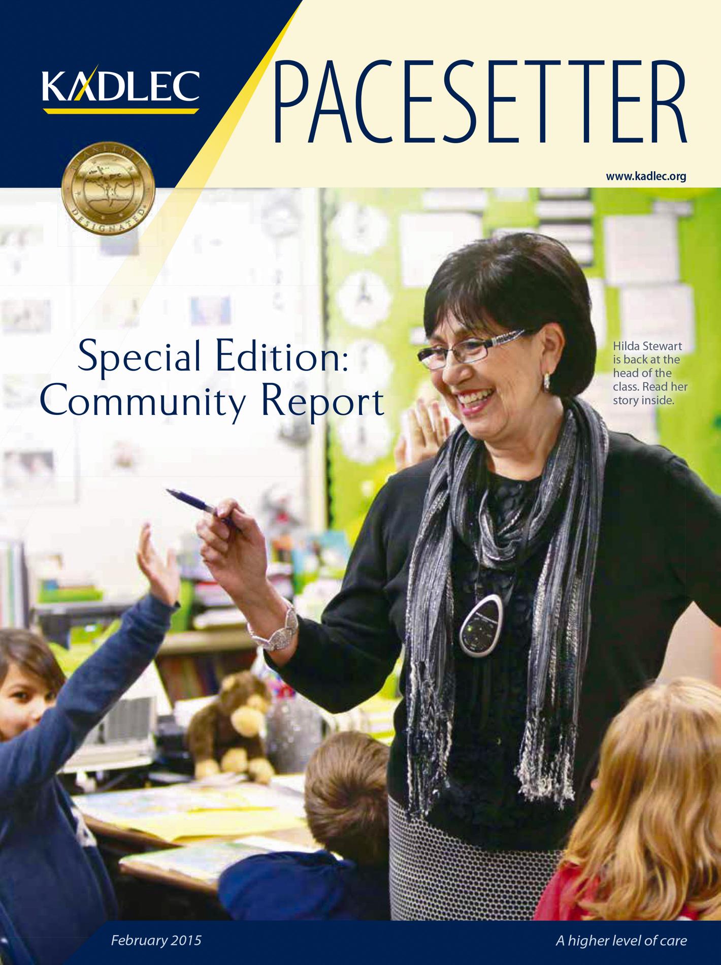 Kadlec Pacesetter Cover