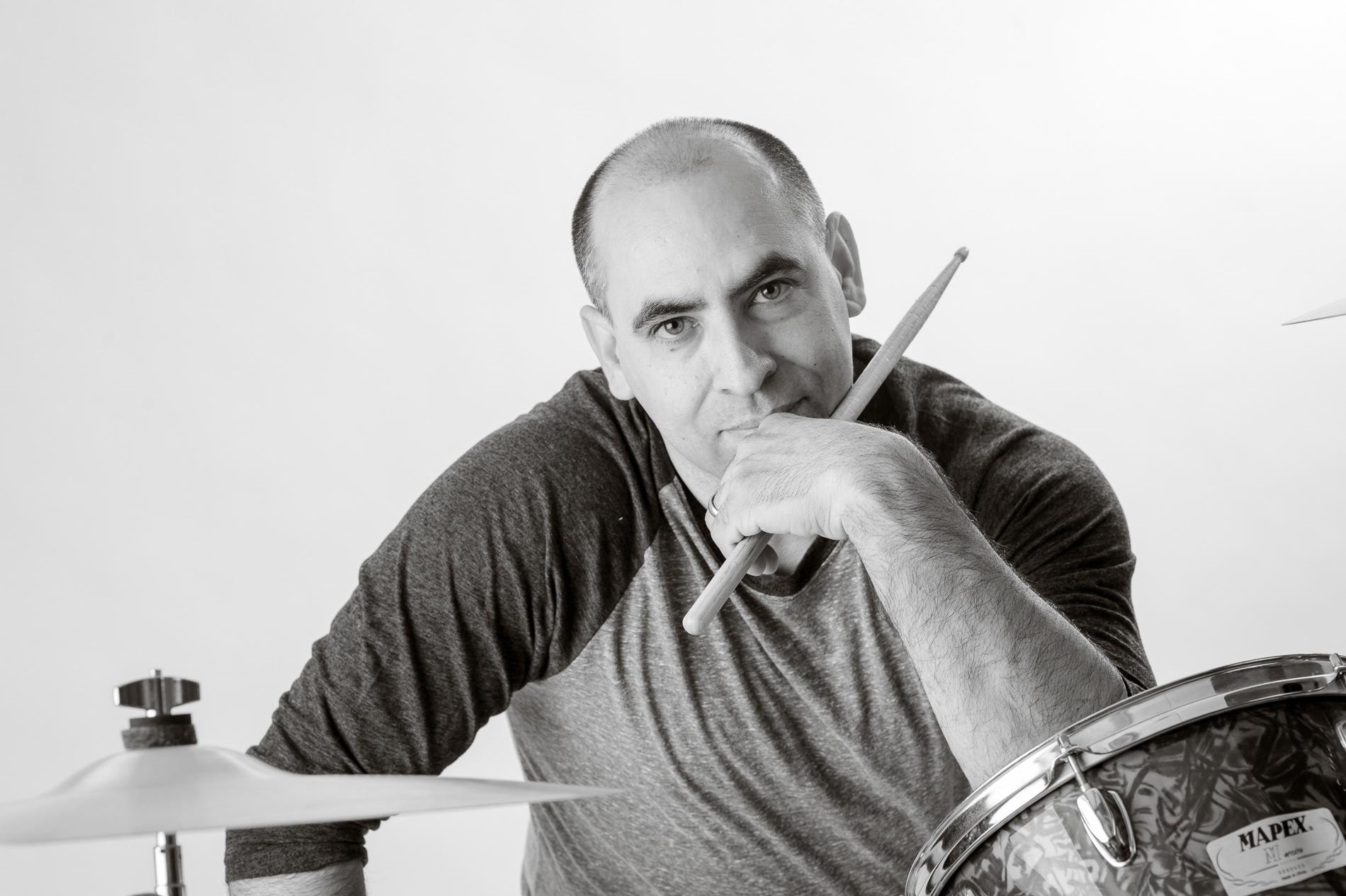 Drummer Portrait