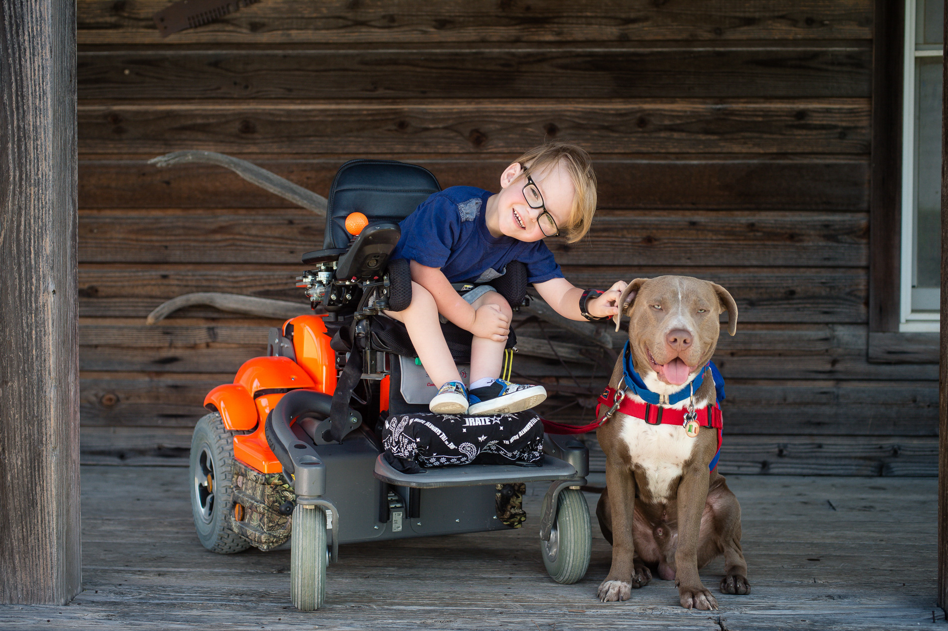 Able and his Dog