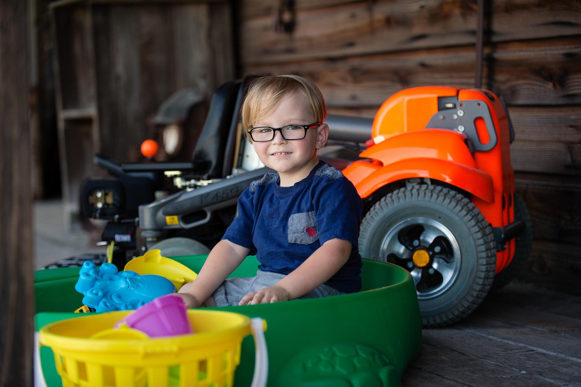 Wheelchair Marketing Photography