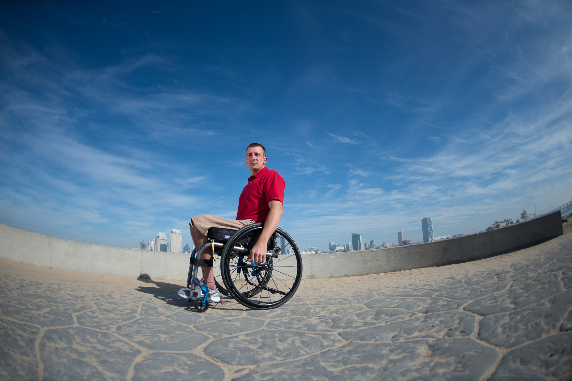Wheelchair Portrait