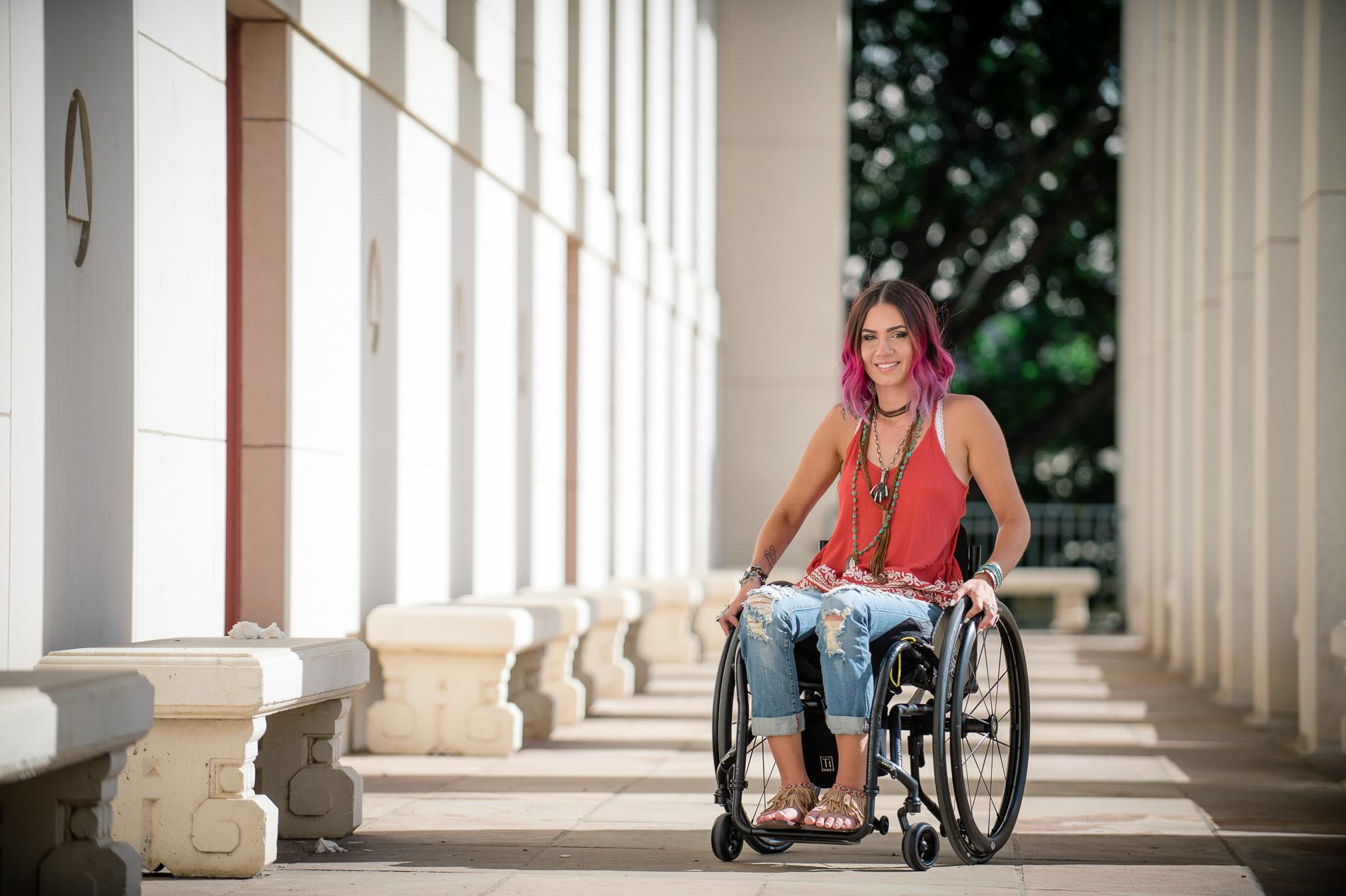 Portrait in a Wheelchair