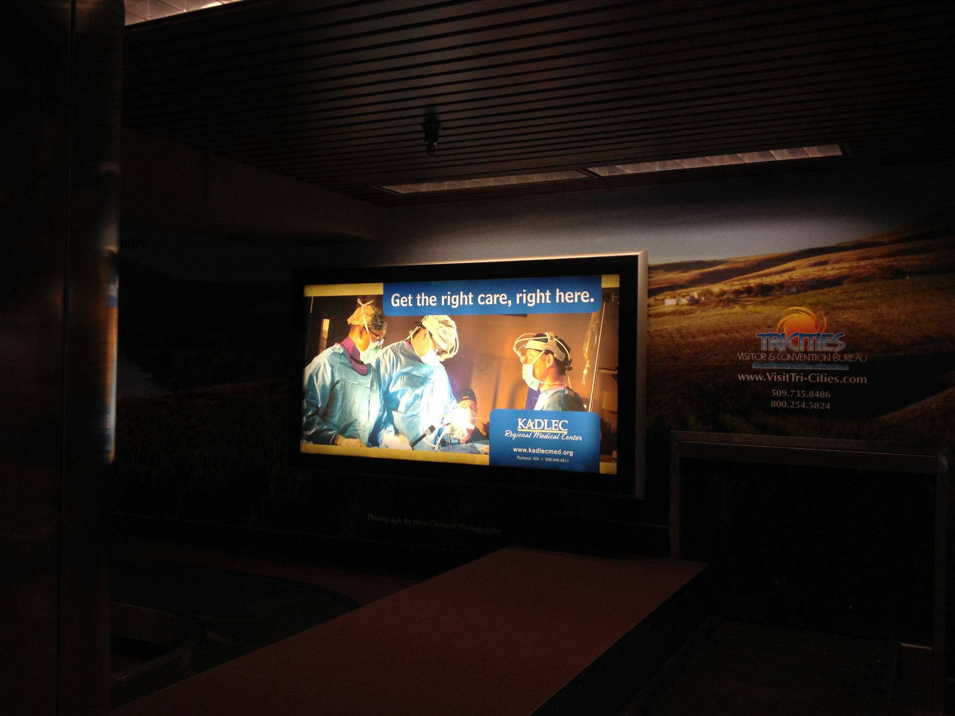 Airport Advertisement
