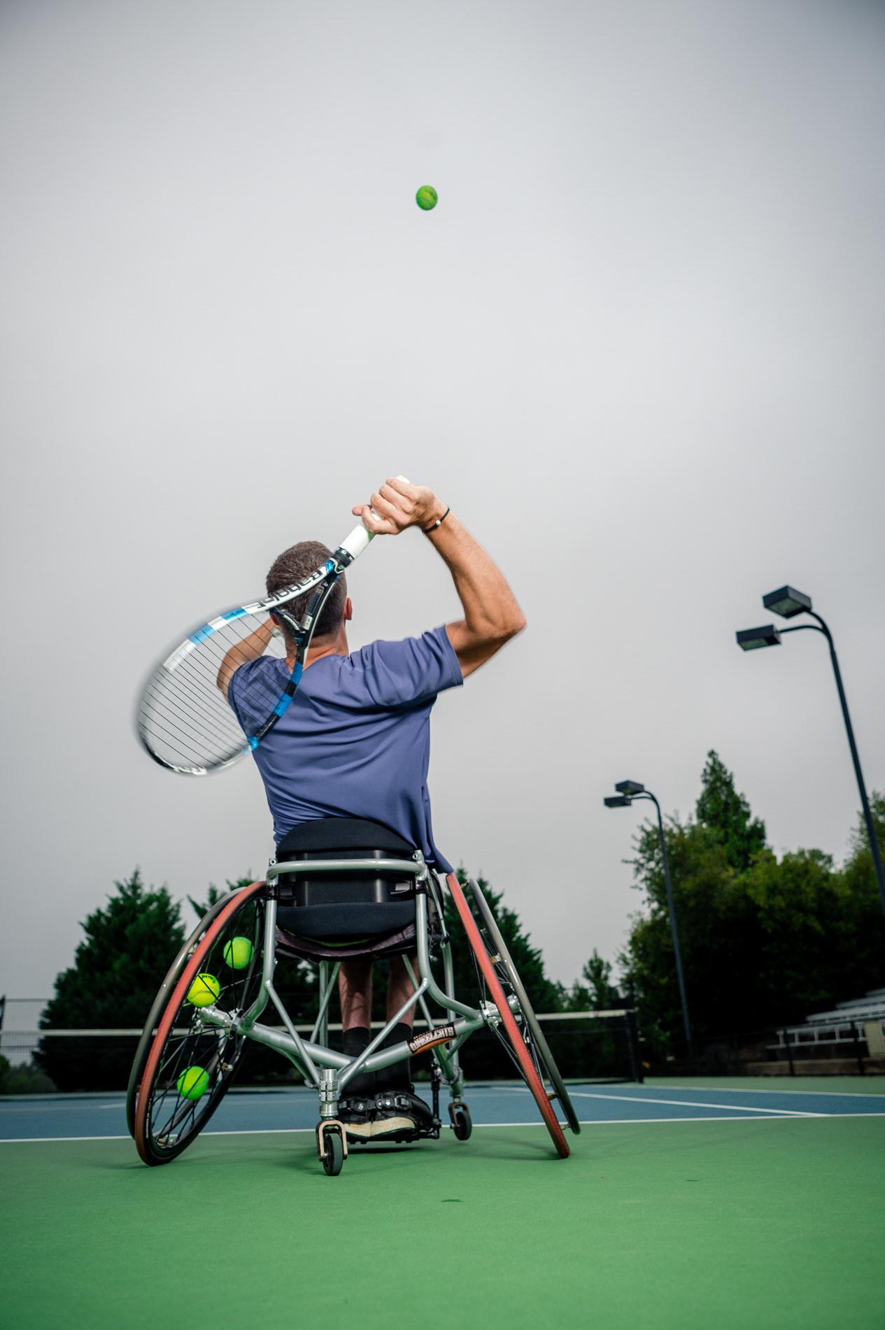 Rainy Day Tennis