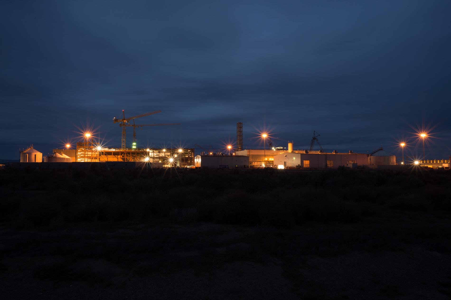 Lights on at the Vit Plant