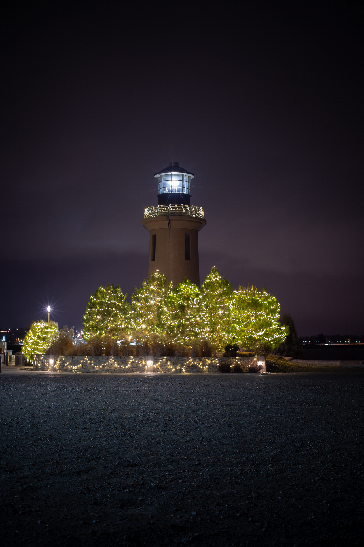 The Lighthouse at Christmas