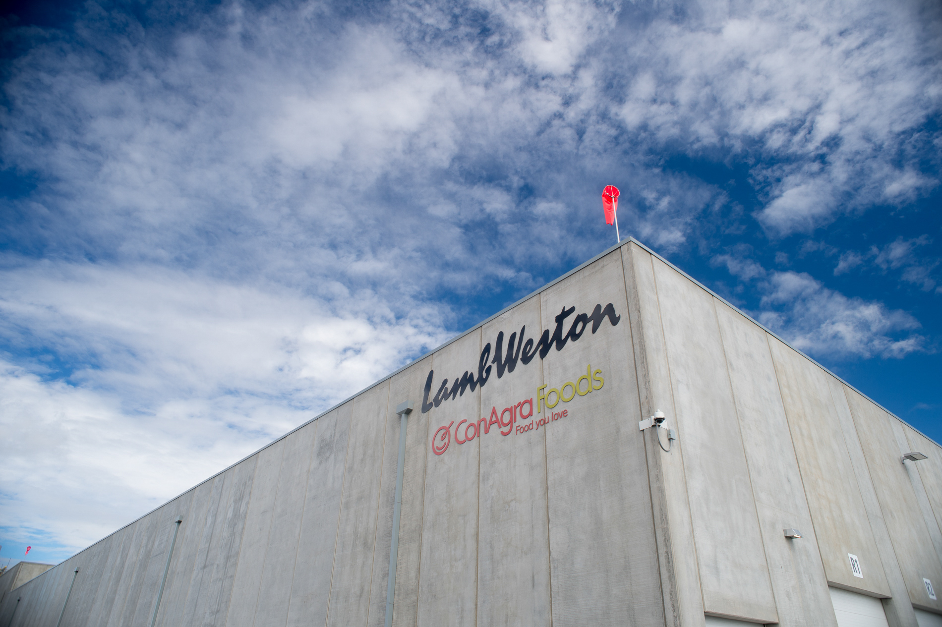 Exterior of the Lamb Weston Boardman Plant.