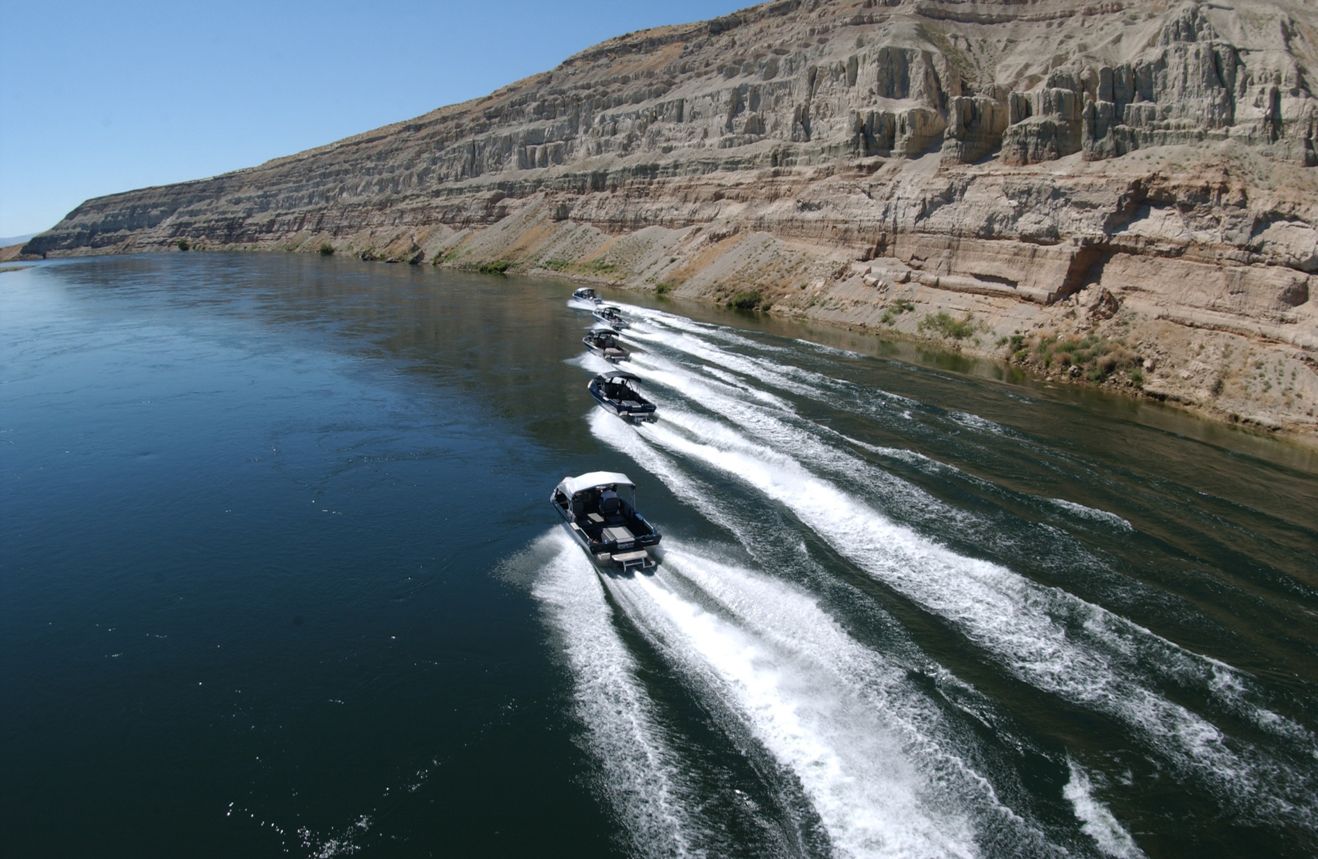 Northwest Jet Boats at the Hanford Reach